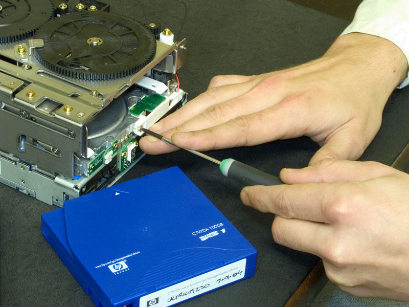 Tape Drive RECOVERY & Repair Data You Cannot Lose
